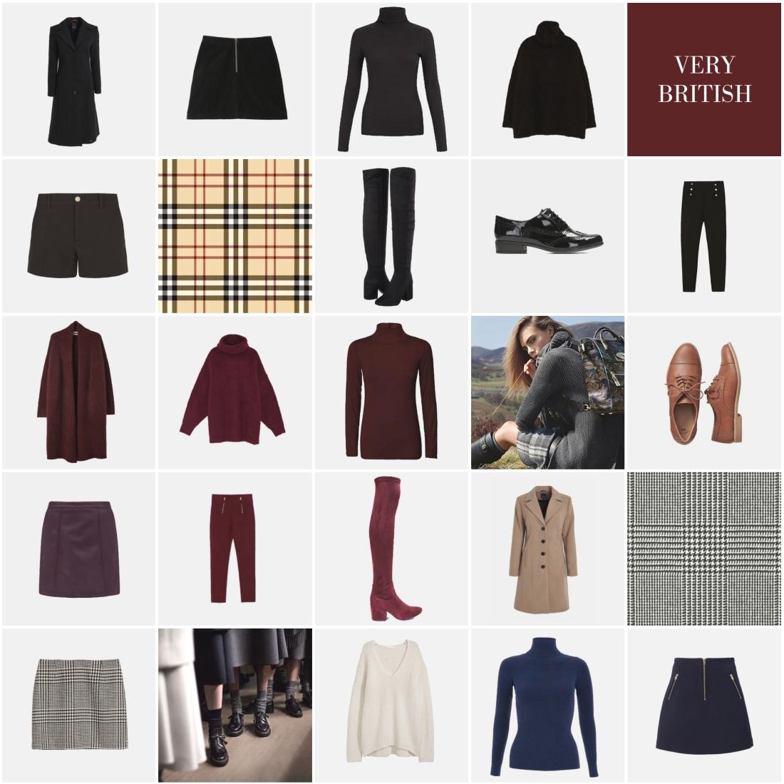Pascale Booysen | British Winter Capsule Wardrobe