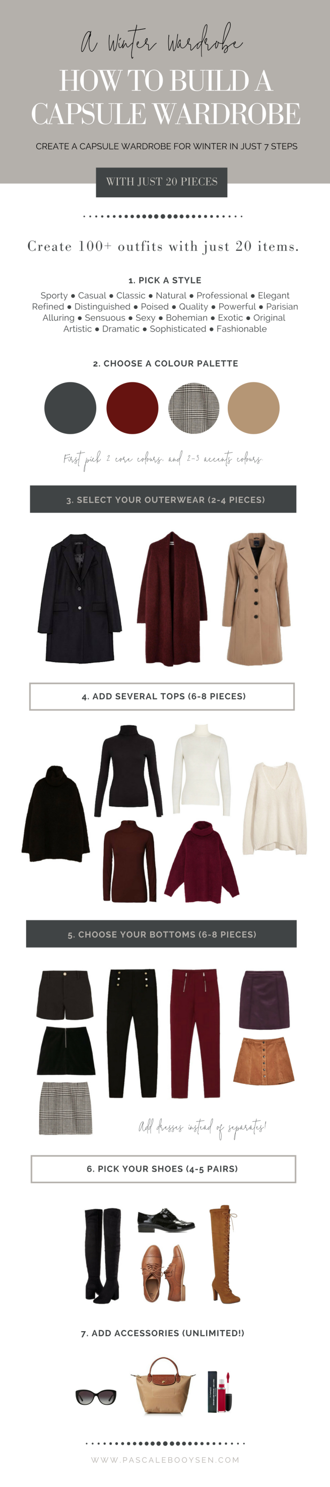 Pascale Booysen | How to Build a Winter Capsule Wardrobe