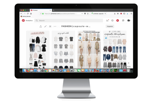 Pascale Booysen | Pinterest Board Capsule Wardrobe